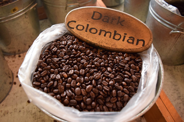 Dark Colombian Coffee